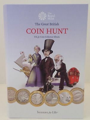 COIN HUNT £2 Two Pounds Folder For all Bi Metal £2 Coins to Date