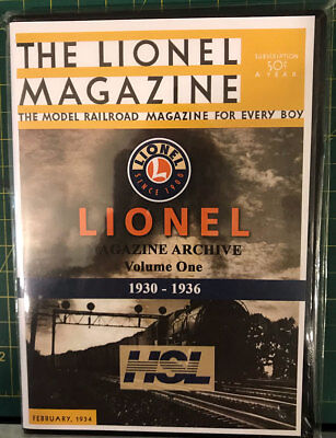 LIONEL Magazine ARCHIVE 1945-1969 HSL CD Tablet Version NEW  FREE SHIPPING