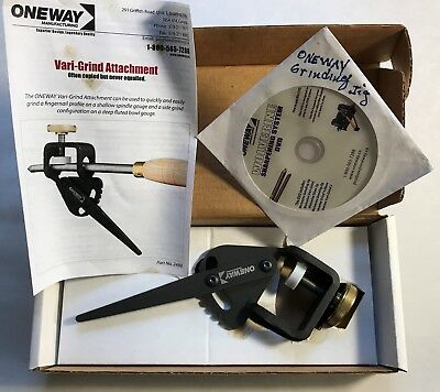Oneway Manufacturing Wolverine The Original Vari Grind Attachment 2480 pre owned