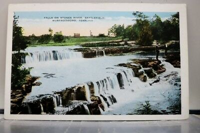 Tennessee TN Murfreesboro Stones River Falls Postcard Old Vintage Card View Post
