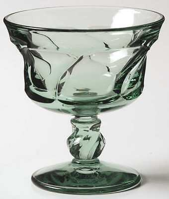 Fostoria JAMESTOWN GREEN Champagne Sherbet Glass 147467