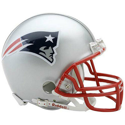Official New England Patriots Mini NFL Helmet