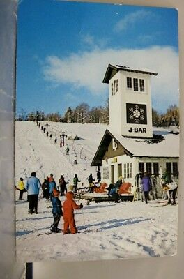 New Hampshire NH Whitney Slope Black Mountain Jackson Postcard Old Vintage Card