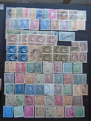Classic Lot Portugal Cabo Verde Angola Angra Vf Mlh Vf Used B662.4 Start 0.99$