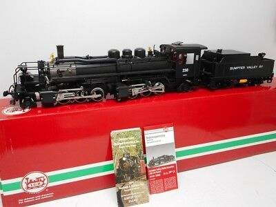 LGB 22892 Sumpter Valley Mallet Steam Locomotive #250 w/Sound G Scale