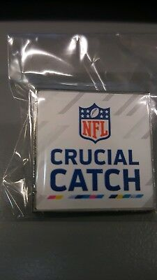 "Nfl Giveaway ""crucial Catch"" Lapel Pin."