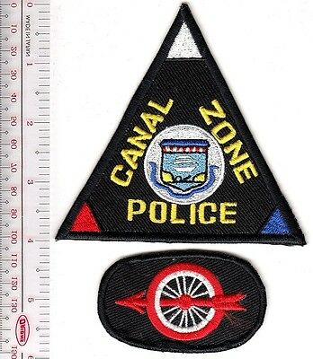 Canal Zone Police Department Panama Motorcycle Police Officer Squad Zona del Can