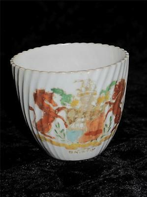 Antique China Crested Ware Cup BRISTOL COAT OF ARMS Crest William Mundy Retail