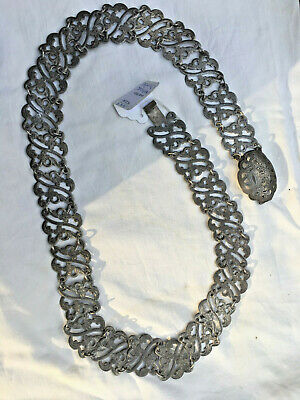 Antique Chinese Sterling Silver Belt