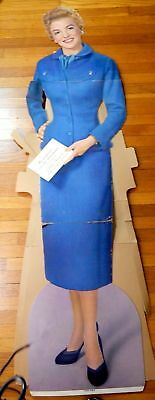Vintage Cardboard Cutout Betty Furness Advertising Westinghouse 67 Inches