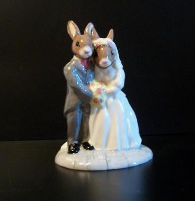 Vintage Royal Doulton Wedding Day Bunnykins Figure-Occasions Collection-Perfect!
