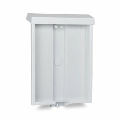 Outdoor Realtor Style Brochure Holder Real Estate Supplies Flyer Box Lid White