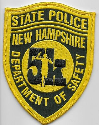 New Hampshire State Police 5k Commemorative patch NH