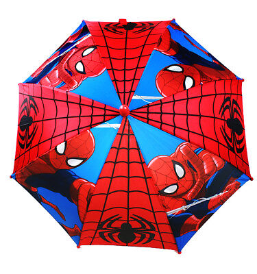 Marvel SPIDERMAN UMBRELLA Molded Handle Rain Snow Sun Gear NEW!