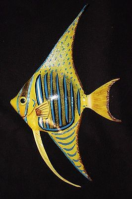 "(1), Seafood Restaurant Fish Wall Decor, Color, Realistic,Ocean, 8"", 3-D,  #217"