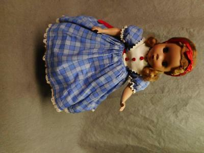 "Vintage Madame Alexander 14"" Beth Little Women Doll 1949 N/r"
