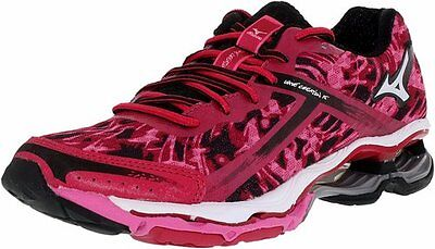 MIZUNO WAVE CREATION 15 womens running shoes Size 8.5 NEW PINK WHITE BLACK