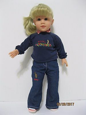 """RARE 17.5"""" GOTZ Puppenmanufaktur  Doll - MARIE - HAPPY KIDZ -Never Played With"""