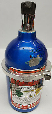 Nitrous Oxide 14730NOS 5 lbs. empty NOS bottle and bracket clamp with skid marks