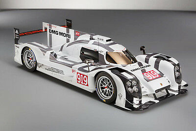1/10 2014 24 Hours of Le Mans Porsche 919 Hybrid Racing RC Car Body with wings