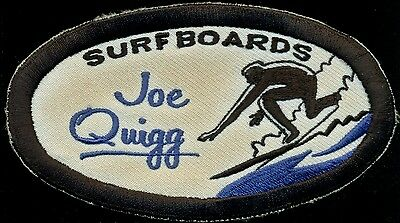 Joe Quigg Surfboards Surf Surfing Patch S-3