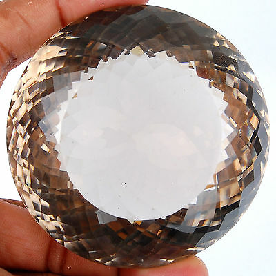 VVS 1378 Cts Certified Untreated Natural Smokey Quartz Huge Museum Size Gemstone