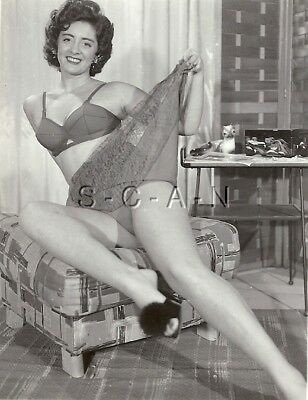1938472f8d1 Org Vintage 40s-60s Risque Pinup RP- Well Endowed Woman- Lingerie- Bra