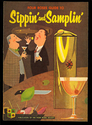 Four Roses Guide to Sippin' and Samplin' #nn Harvey File Copy 1950's VF