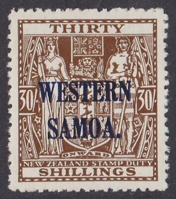 Western Samoa :1945 Arms 30/- MNH ** SG 211 .  PHOTO CERTIFICATE