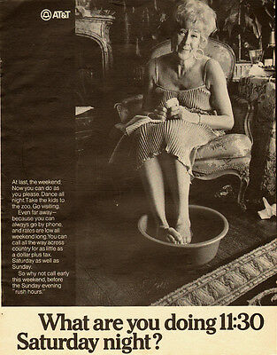 1960s vintage ad for AT&T, great picture!- 080613