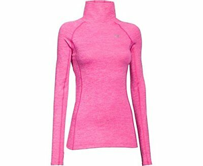 Under Armour Women's ColdGear Cozy Neck - Pink - X-Small 1249973-652-XS