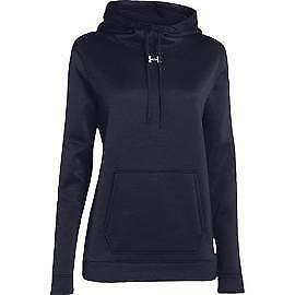 Under Armour 1258826-410 Storm Armour Fleece Hoodie - Women's - Navy - Small