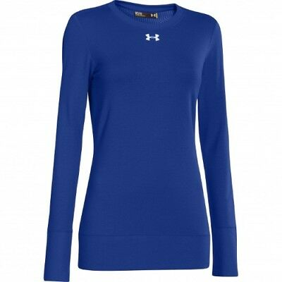 Under Armour Infrared ColdGear Crew - Women's - Royal - XS - 1259042-400