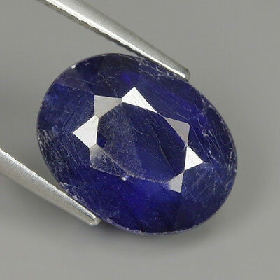 Lovely 12.15 Ct Natural Africa BLUE SAPPHIRE Oval Gemstone !!