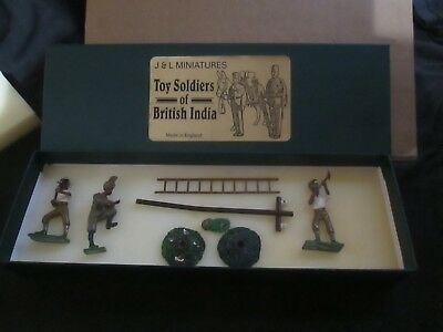 J & L Miniatures Soldiers Of British India Boxed Lot B