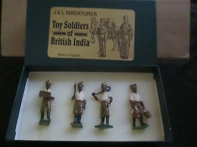 J & L Miniatures Soldiers Of British India Boxed Lot G