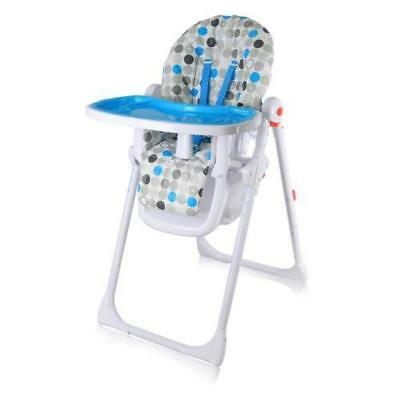 iSafe MAMA Highchair - Blue Circles