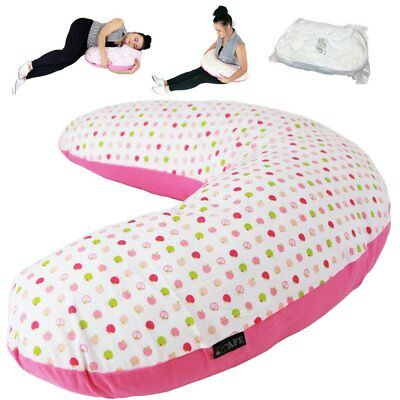 iSafe Pregnancy Maternity And Feeding Pillow Apple Land + Vacuum Storage Bag + P