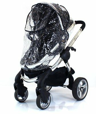 Zipped Raincover Fits Icandy Pear Apple Peach Strawberry Pushchair Carrycot Mode