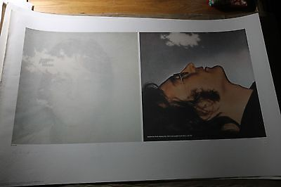 John Lennon Art Print IMAGINE Hand Signed Yoko Ono 243/350 Special Sale !