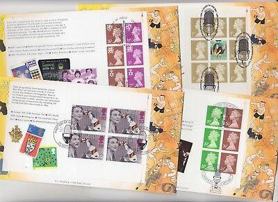 Gb Stamps Prestige Book First Day Cover 1997 Bbc Tv Bradbury Collection