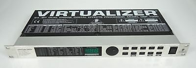 Behringer Virtualizer 24-Bit Dual Engine Digital Effects Processor Dsp 1000