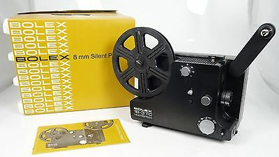 Bolex 18-3 Tc Normal 8 + Super 8 Stummfilmprojektor Im Originalkarton