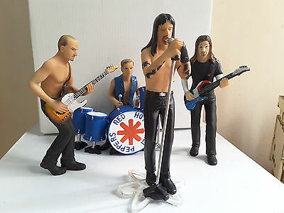 Figuras grupo RED HOT CHILI PEPPERS figures resine Polystone 13 cm hoch Figuren