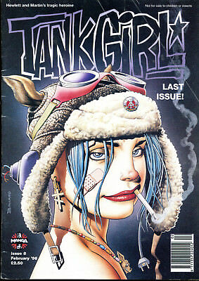 TANK GIRL Issue 8 February 1996 Last Issue!