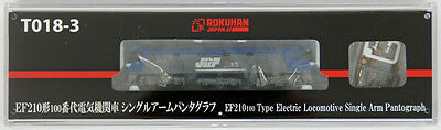 Rokuhan T018-3 Z Scale Electric Locomotive Type EF210-100 Single Arm Pantograph