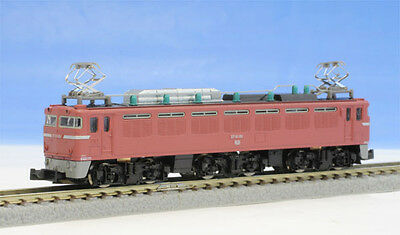 Rokuhan T015-2 Z Scale JNR Electric Locomotive Type EF81 Normal Color