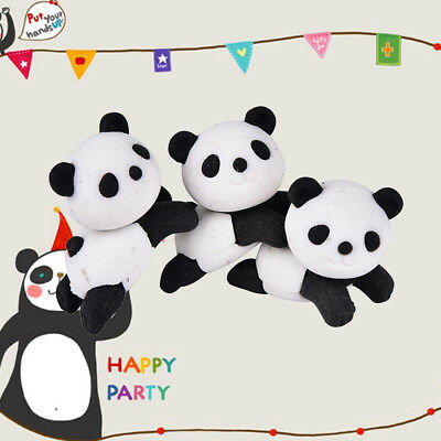 1pcs Panda Eraser Stationery School Supplies Correction Supplies Child's Gifts D