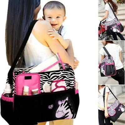 Waterproof Diaper Nappy Changing Liners Bags Mummy Baby Animal Print Bag 3 Color