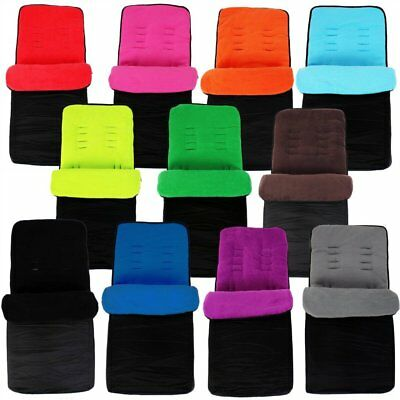 Universal Marshmallow Super Soft Footmuff For Silver Cross Cosy Toes Pushchair